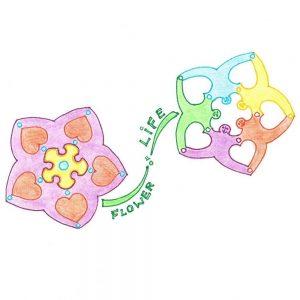 'flower of life' tekening