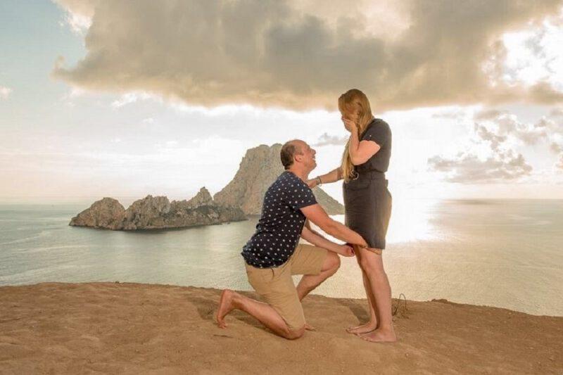 wil met me trouwen in brons