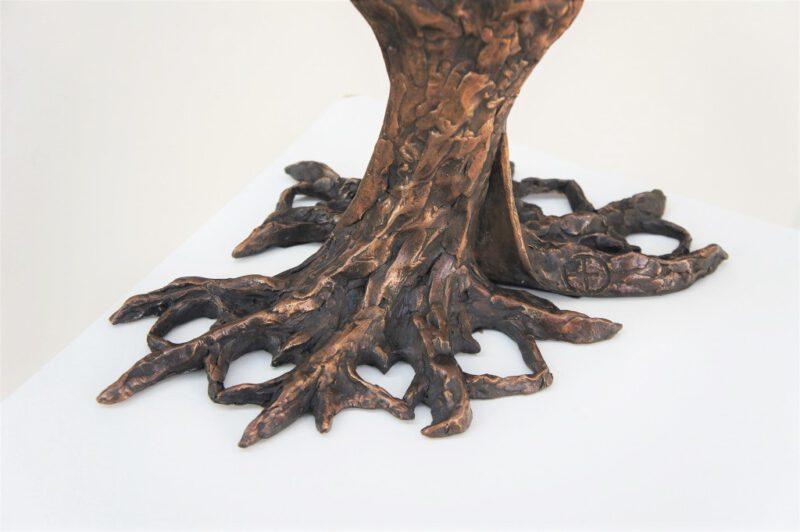 bronzen beeld Diane Timmer