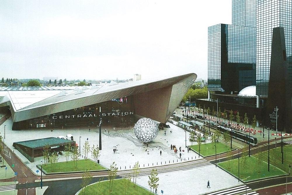 kunst Rotterdam CS ontwerp Diane Timmer